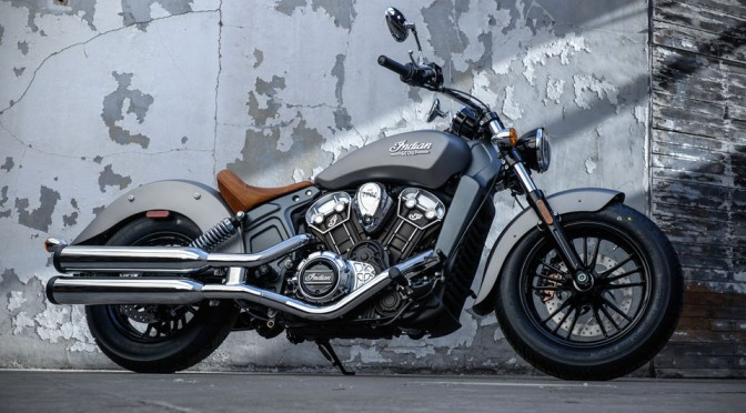 2015 Indian Scout Cruiser Bike