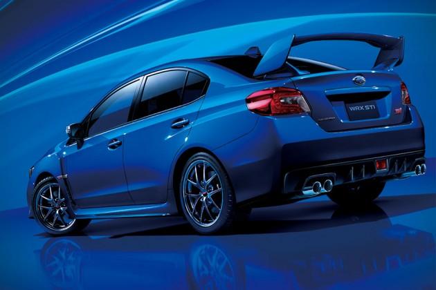 2015 Subaru WRX STI (Japanese Spec)