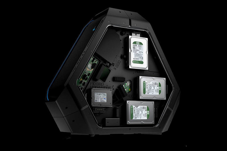 Alienware Upcoming Area 51 Gaming Rig Is As Alien As It