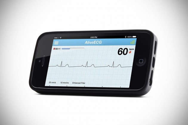 AliveCor Heart Monitor For Mobile Devices