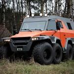 Avtoros Shaman 8×8 ATV Is An Off-road Beast That Can Maneuver Sideways.