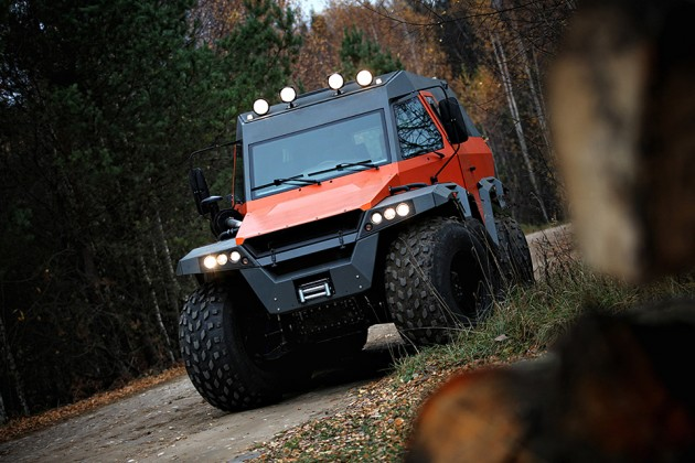 Avtoros Shaman 8x8 All-Terrain Vehicle