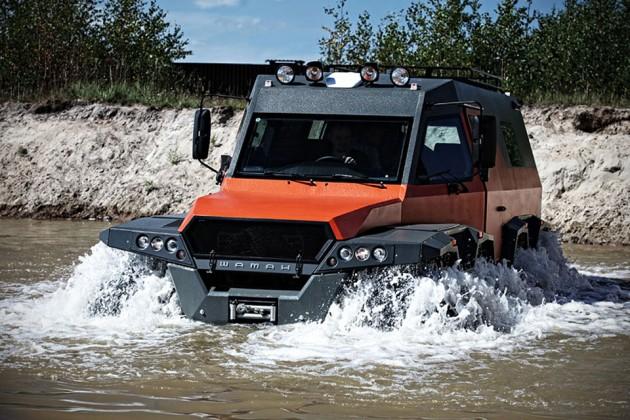 Avtoros Shaman 8x8 All-Terrain Vehicle