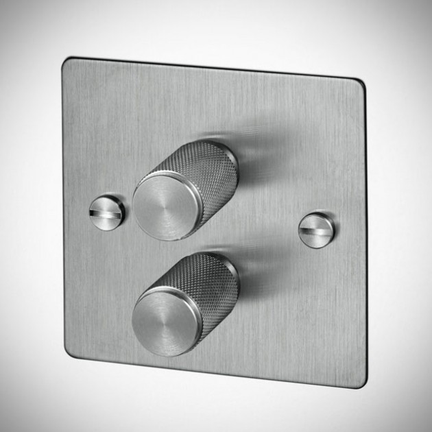 Buster & Punch Light Switches - Steel