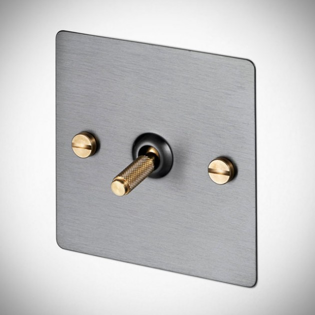 Buster & Punch Light Switches - Brass and Steel