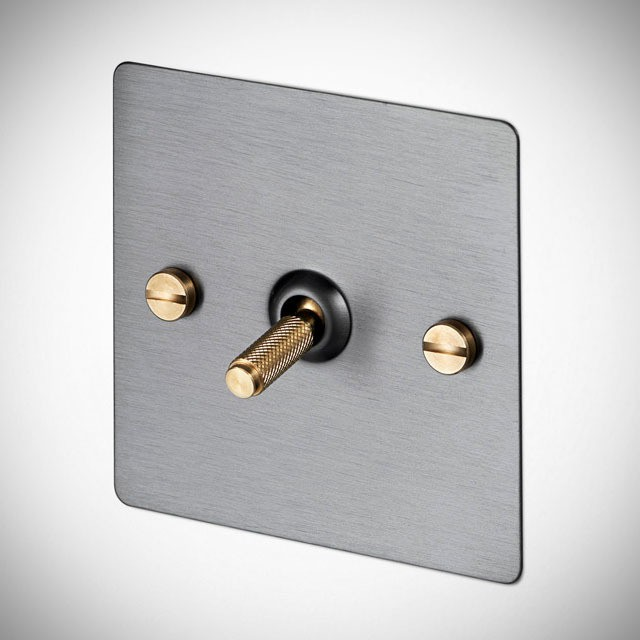 buster punch light switches will lend your home the. Black Bedroom Furniture Sets. Home Design Ideas