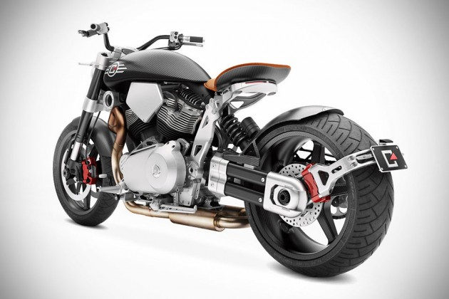Confederate X132 Hellcat Speedster Motorcycle