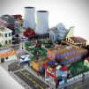 Custom LEGO Town of Springfield