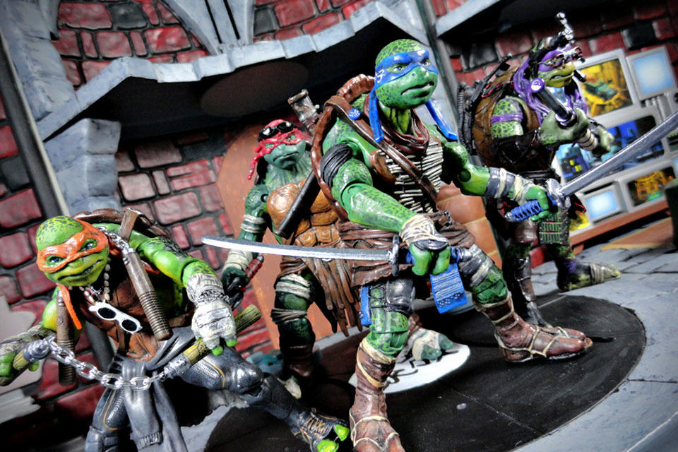 Someone Just Turned Toy Ish Tmnt Action Figures Into