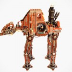 Steampunk Star Wars AT-AT Is Probably Not Going To Be Practical, But A Sight To Behold Nonetheless