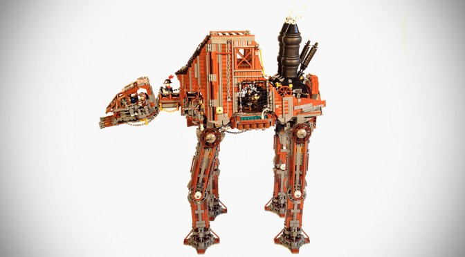 Custom Steampunk LEGO Star Wars AT-AT