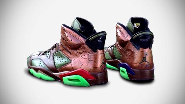 Custom Teenage Mutant Ninja Turtles Air Jordan Sneakers