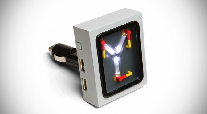 Flux Capacitor Usb Car Charger Uk