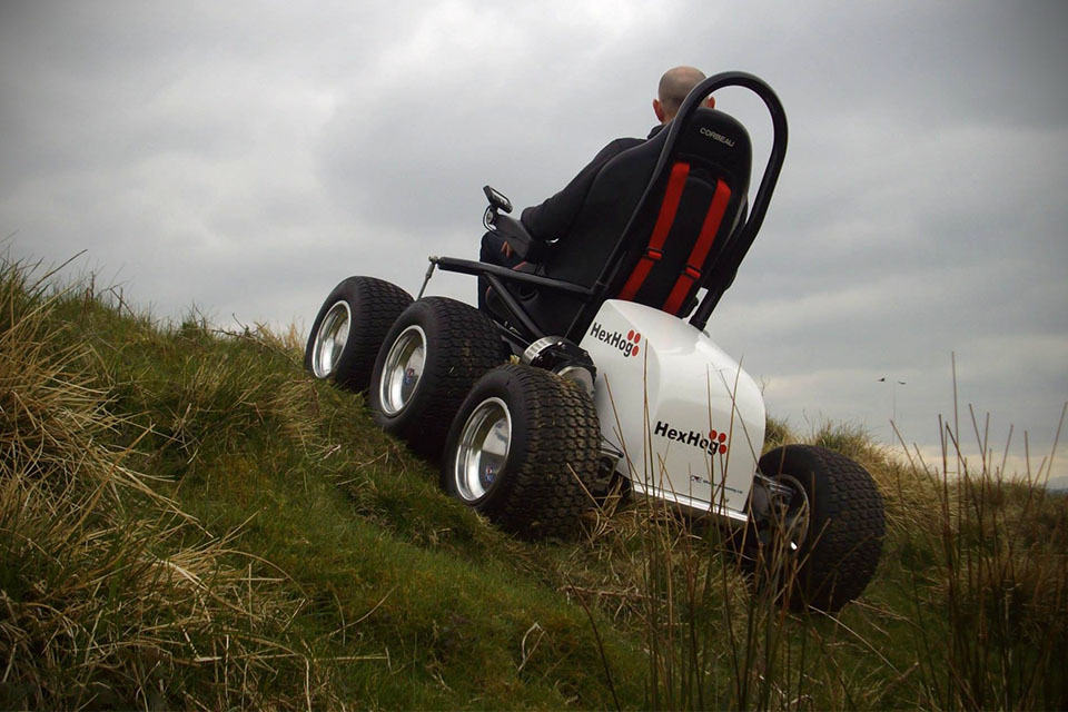 All Terrain Wheelchair >> Hexhog Gives Wheelchair-bound Users The Power To Explore ...