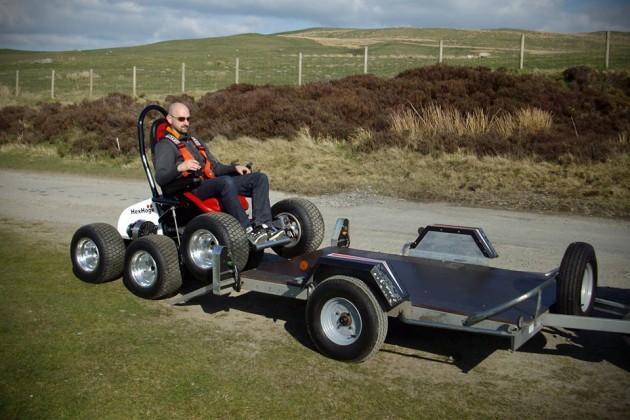 Hexhog All-Terrain Wheelchair