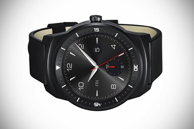 LG G Watch R Powered by Android Wear
