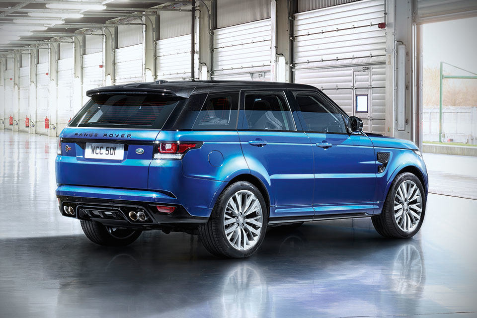 7 Seater Luxury Suv >> 550HP Range Rover Sport SVR Is Officially The Fastest, Most Powerful Land Rover Yet | SHOUTS