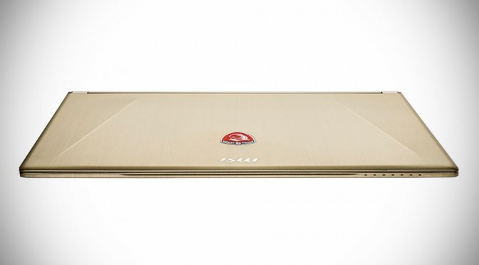 MSI Goes For Gold With NewEgg Exclusive Gold Edition GGS60 Ghost Gaming Laptops
