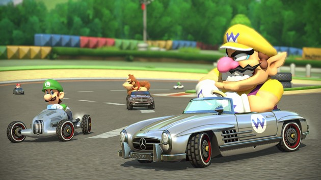 Mario Kart 8: Mercedes Karts