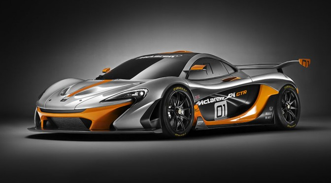 McLaren Cranks Up The Insanity Level Of The P1 With A 986 Horsepower Track-focused Concept