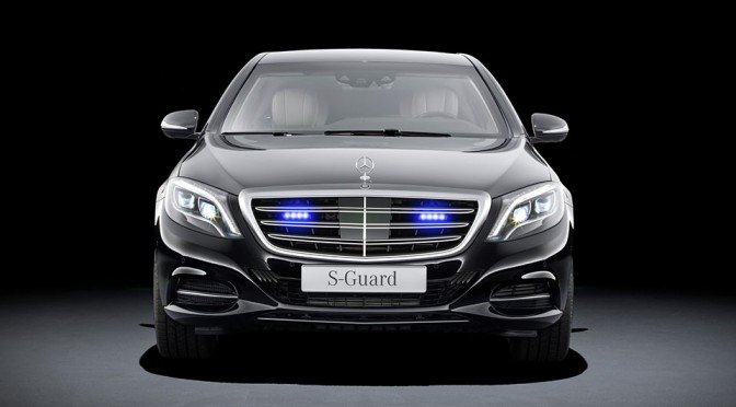 Mercedes-Benz Premieres New S600 Guard Touting Highest Level Of Ballistic Protection