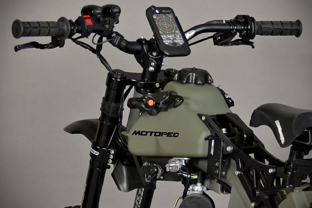 Motoped Survival Bike: Black Ops Edition