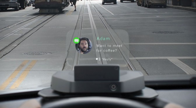 Navdy Puts iOS And Android-friendly Head-up Display In Your Car Without Breaking Your Bank