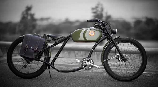 Otocycles Retro Styling Electric Bikes Looks Like The Lovable Cafe