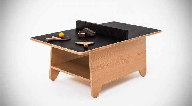 This Doodlable Ping Pong Coffee Table Will Make Your Living Room More Livelier
