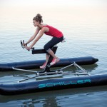 You Can't Walk On Water, But You Certainly Can Cycle On It With Schiller X1 Water Bicycle