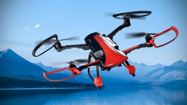 Sky Rider Quadcopter Drone Designed By Pininfarina