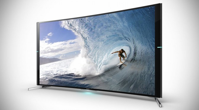 Sony Has Its Own Curved 4K TV, But Has A Little Less Curve For 'More Immersive Experience'