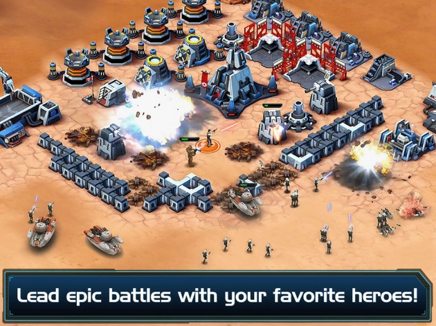 Star Wars: Commander iPad Game