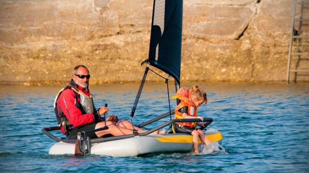 TIWAL 3.2 Inflatable Sailboat
