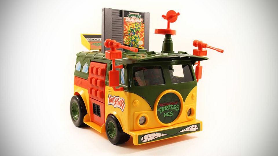 This Teenage Mutant Ninja Turtles Party Wagon Is Actually