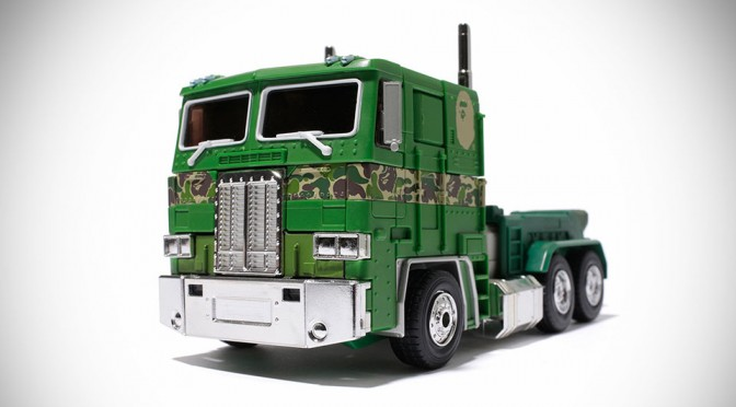 Transformers MP-10 Convoy Bape Version