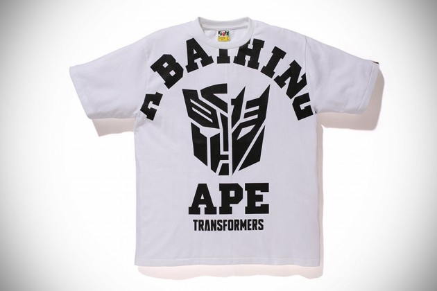 Transformers x A Bathing Ape 2014 Capsule Collection - Big College Tee