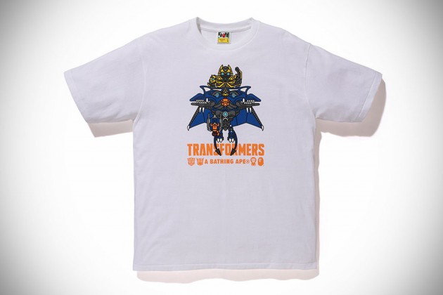Transformers x A Bathing Ape 2014 Capsule Collection - Bumblebee and Dinobot