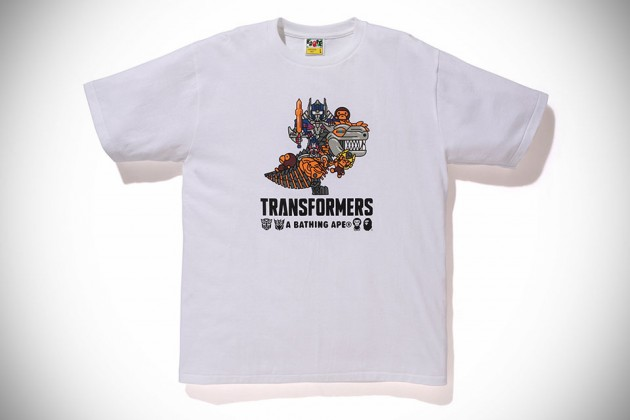 Transformers x A Bathing Ape 2014 Capsule Collection - Prime and Dinobot