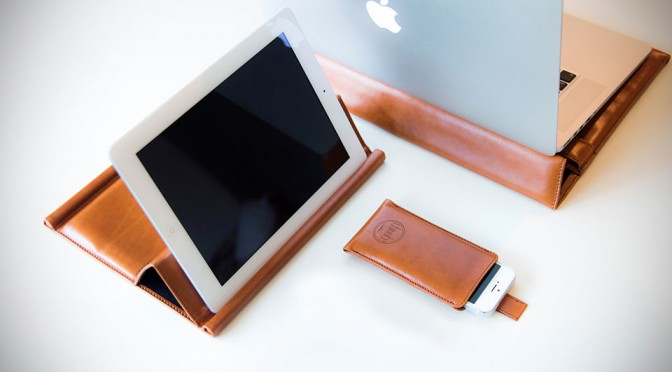 Chivote iPad Case & Stand: A Non-binding, Stylish Way To Keep And Use Your iPad