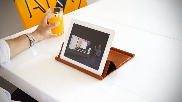 iPad Leather Case & Stand by Chivote