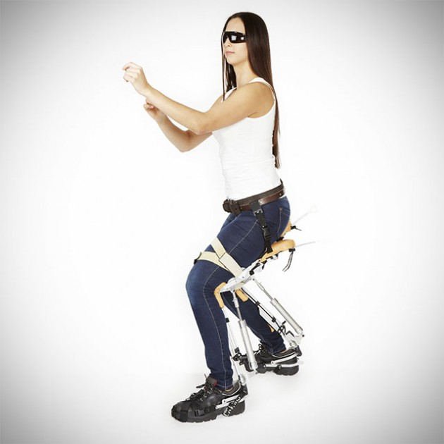 'Chairless Chair' Exoskeleton Makes Factory Work Easier ...