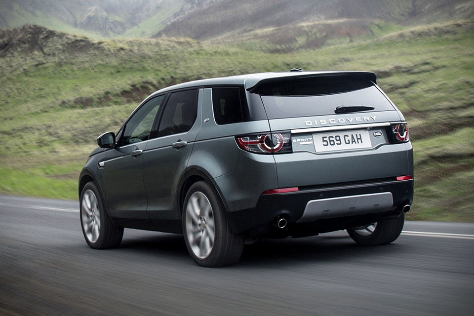 land rover adds all new 240 hp 7 seater discovery sport to its stable mikeshouts. Black Bedroom Furniture Sets. Home Design Ideas