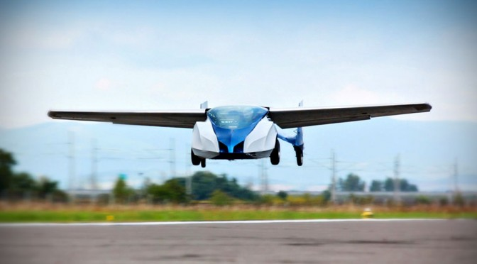 Slovakia Flying Car, AeroMobil 2.5, Successfully Takes To The Sky