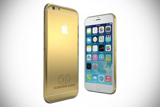 Amosu 24ct Gold iPhone 6