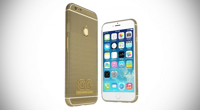 Someone Just Commissioned Amosu To Create a Diamond Encrusted 18K Solid Gold iPhone 6 For £1.7M