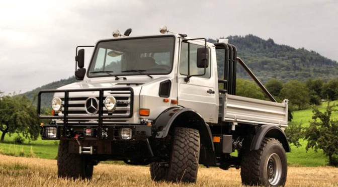You Can Now Buy Arnold Schwarzenegger's 1977 Unimog U1300 ...