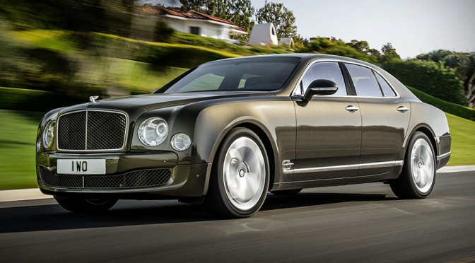 Bentley Announces Mulsanne Speed With Uprated Engine Producing 530HP and 1,100Nm of Torque