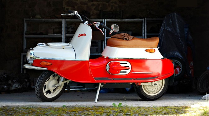 Czech's Cezeta Reborn, Introduces New Electric Scooter Based On The Classic Type 501 and 502