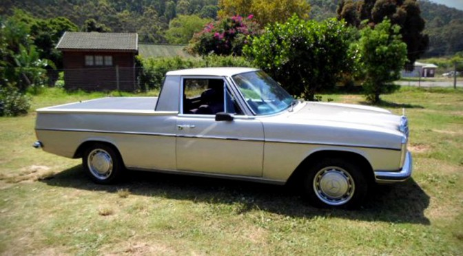 This Custom 1971 Mercedes Pickup Truck Packs a Lexus V8 Engine